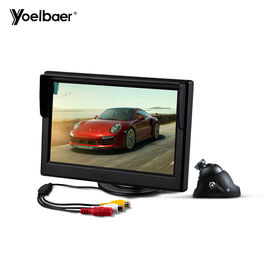 China Mini Infrared Car Reversing Aid System Desktop 5 Inch Screen 16/9 Car Monitor Camera factory
