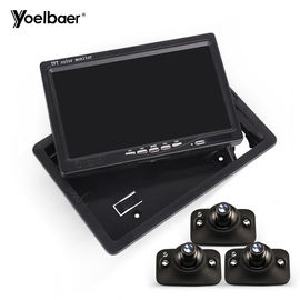 IP67 Car Reversing Aid System With Night Vision Camera 7 Inch LCD Monitor