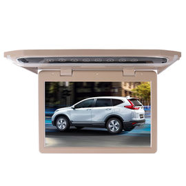 China 22 Inch Motorized Flip Down Monitor Roof Mount , Car Ceiling Mounted Monitor factory