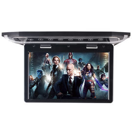 China High Resolution Motorized LCD Monitor 12 Inch HD LED Flip Down BUS Roof TV Monitor factory