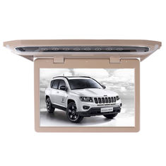 China 1080P Lvds Led Car Roof Mount Monitor Laser Carving Touch Button With SD FM USB HD factory