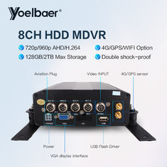 High Stable 8ch DVR AHD 720P 4G GPS Tracking On Mobile Phone Computer APP
