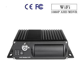 China 2.0MP 1080P 4Ch Mobile DVR Dual SD Card School Bus With GPS 3G 4G WIFI factory