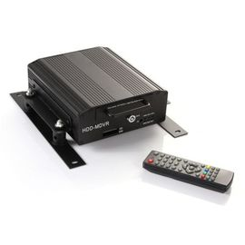 China Remote Control HDD Mobile DVR 4 Camera MDVR Recorder Real Time Online Monitor factory