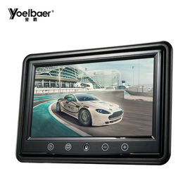 Desktop Car Video Display Screen , VGA 9 Inch Tft Lcd Color Monitor PAL/NTSC