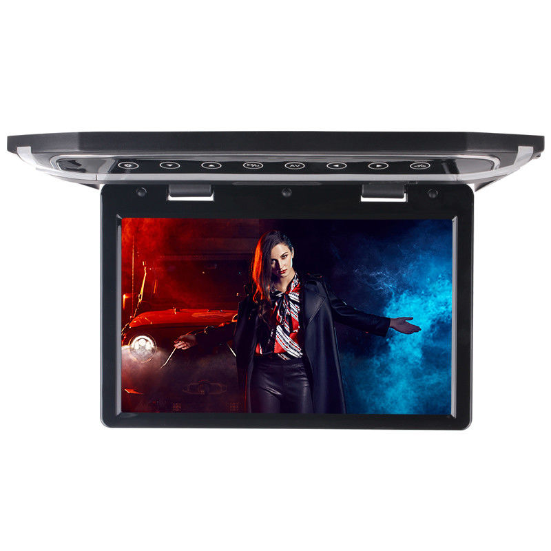 HD 1080P IPS Motorized LCD Monitor 15.6 Inch With Blue Ambient Light DVR TV Player supplier