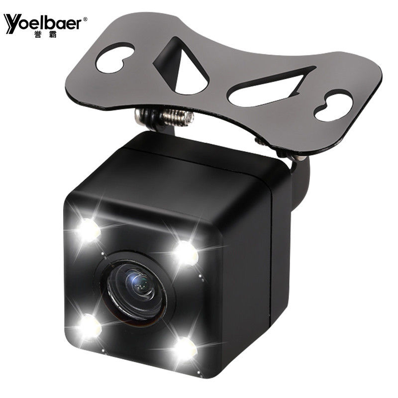 Mini LED Light Hidden Car Reversing Rear View Camera Night Vision 120 Degree supplier