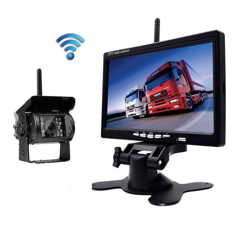 2.4g Wireless Car Rear View Camera System IR Camera Parking Aid System supplier