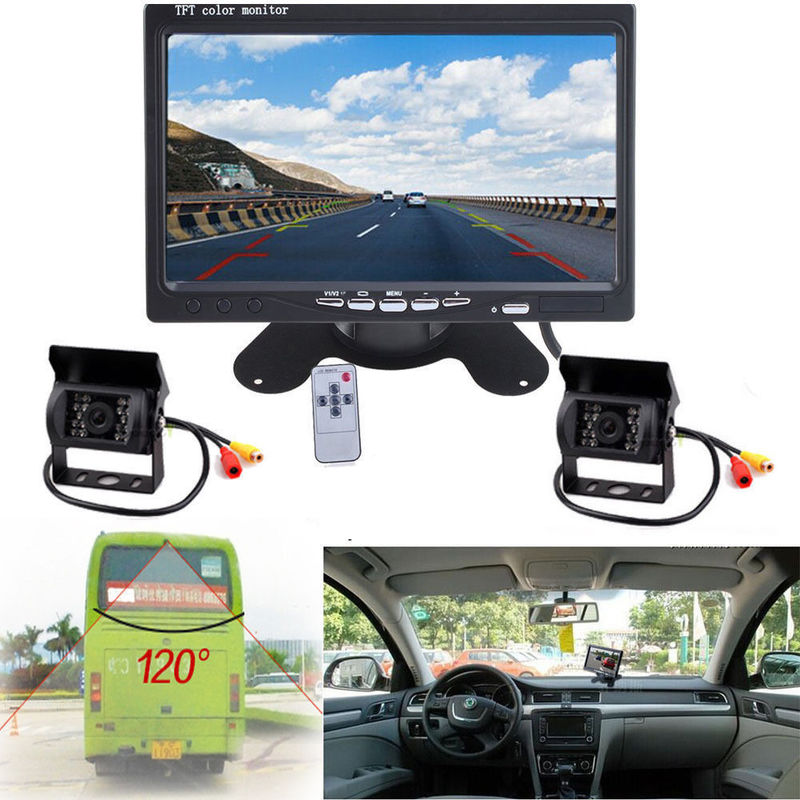 Night Vision Vehicle Reversing Systems Rear View Display Screen For Vehicle supplier