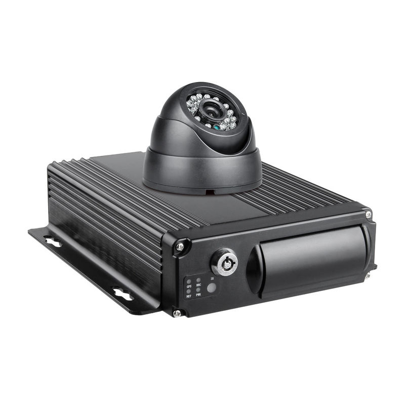 Customized 4CH Mobile DVR 1080P Vehicle Security Video Recorder With G Sensor supplier