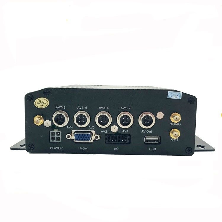 3G / 4G Hard Disk DVR Recorder 4 Channel Wifi HDD MDVR Anti Vibration supplier