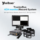 HD 720P MDVR GPS Mobile DVR System 4CH HDD 4G BUS MDVR With Smart